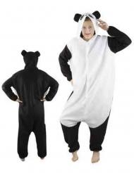 Déguisement combinaison panda adulte