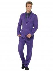 Costume violet 3 pièces homme