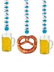 3 Décorations à suspendre Oktoberfest