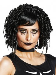 Perruque gothique noire femme