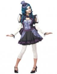 Déguisement poupée cassée femme Halloween