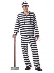 Déguisement de prisonnier récidiviste pour homme