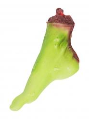 Pied de zombie sanglant 25x7x15cm Halloween