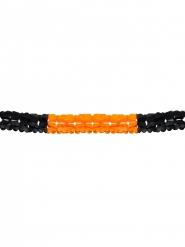 Guirlande orange et noir Halloween
