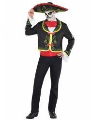 Déguisement Mexicaine Dia de los muertos homme Halloween