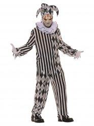 Déguisement Arlequin de l'horreur homme Halloween