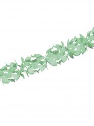 Guirlande de décoration verte 600x18 cm