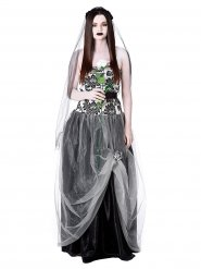 Déguisement mariée gothique femme Halloween