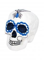 Crâne Dia de los muertos Halloween 18 x 15 x 16 cm