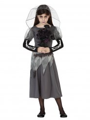 Déguisement fantôme mariée fille Halloween