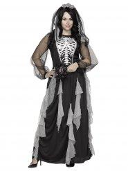 Déguisement de mariée squelette femme Halloween