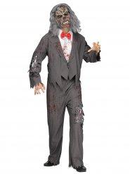 Déguisement serveur zombie homme Halloween
