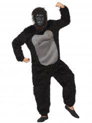 Déguisement gorille adulte noir