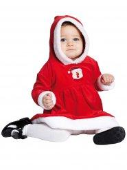 Déguisement petite miss Noël bébé