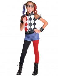 Déguisement luxe Harley Quinn™ fille  - Superhero Girls™