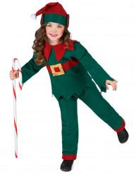Déguisement elfe de Noël enfant