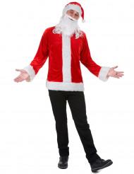 Kit déguisement Père Noël adulte