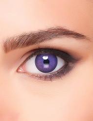 Lentilles fantaisie monstre violet adulte