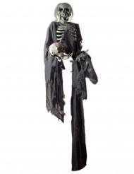 Décoration à suspendre squelette Halloween