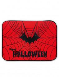 Paillasson lumineux et sonore toile d'araignée Halloween