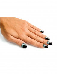 Faux ongles toile d