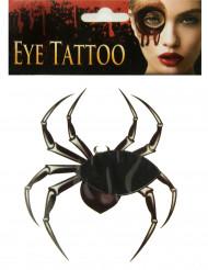 Tatouage pour œil araignée adulte Halloween
