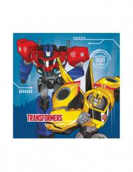 20 serviettes en papier 33 x 33cm Transformers Robots in Disguise ™