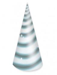 8 Chapeaux d'anniversaire Licorne