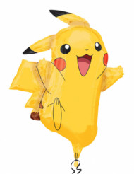 Ballon aluminium Pikachu Pokémon ™ 62 x 78cm