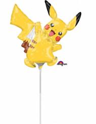 Petit ballon aluminium Pikachu Pokémon ™ 30 x 30 cm