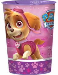 Verre en plastique rose Pat'Patrouille™ 473 ml