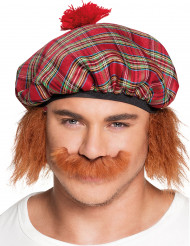 Moustache écossais adulte