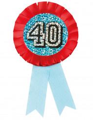 Médaille holographique 40