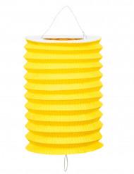 12 Lampions jaunes
