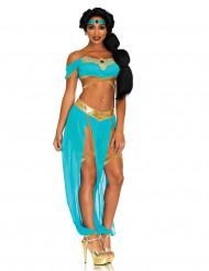 Déguisement princesse rêveuse bleue sexy femme