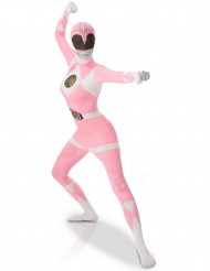 Déguisement seconde peau Power Rangers™ Rose femme