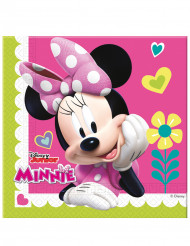 20 Serviettes 33x33cm Minnie Happy ™