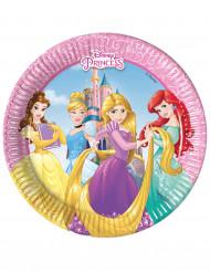 8 Assiettes en carton 20cm Princesses Disney Dreaming ™