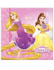 20 Serviettes en papier 33x33cm Princesses Disney Dreaming ™