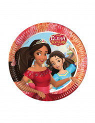 8 Assiettes en carton 23cm Elena d'Avalor ™