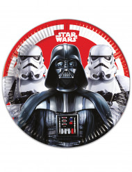 8 Assiettes en carton 23cm Star Wars Final Battle ™