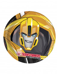 8 Assiettes en carton 23cm Transformers RID ™