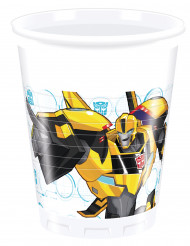 8 Gobelets en plastique  200ml Transformers RID ™
