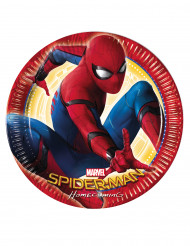 8 Assiettes 23cm Spiderman Homecoming ™