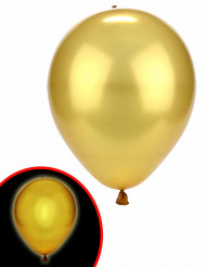 Ballon LED doré Illooms ®