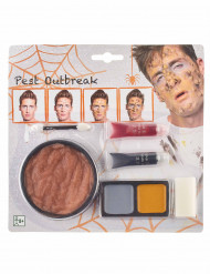 Kit maquillage peste adulte Halloween