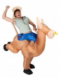 Déguisement champion de rodéo gonflable adulte