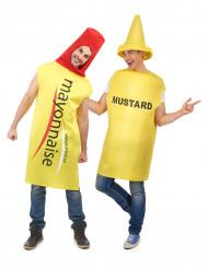 Déguisement de couple mayonnaise et moutarde