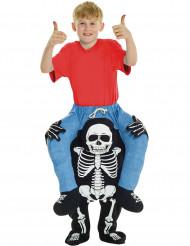 Déguisement homme à dos de squelette enfant Halloween