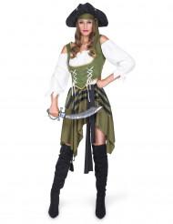 Déguisement Pirate flibustière femme